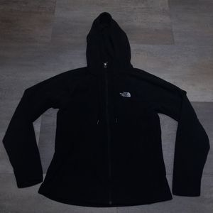 The North Face Womens Fleece Hooded Jacket Medium